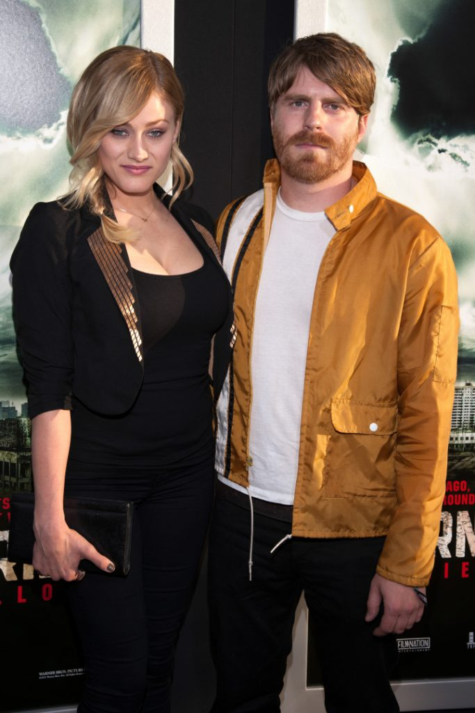 Olivia Taylor Dudley with Evan Glodell