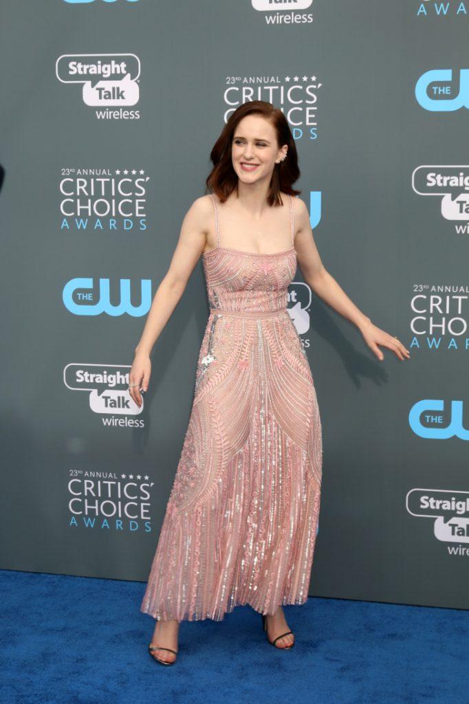 Rachel Brosnahan at the Annual Critics Choice Awards