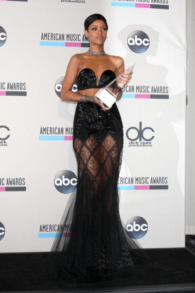 Rihanna at the American Music Awards