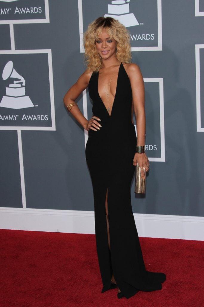 Rihanna at the Annual Grammy Awards
