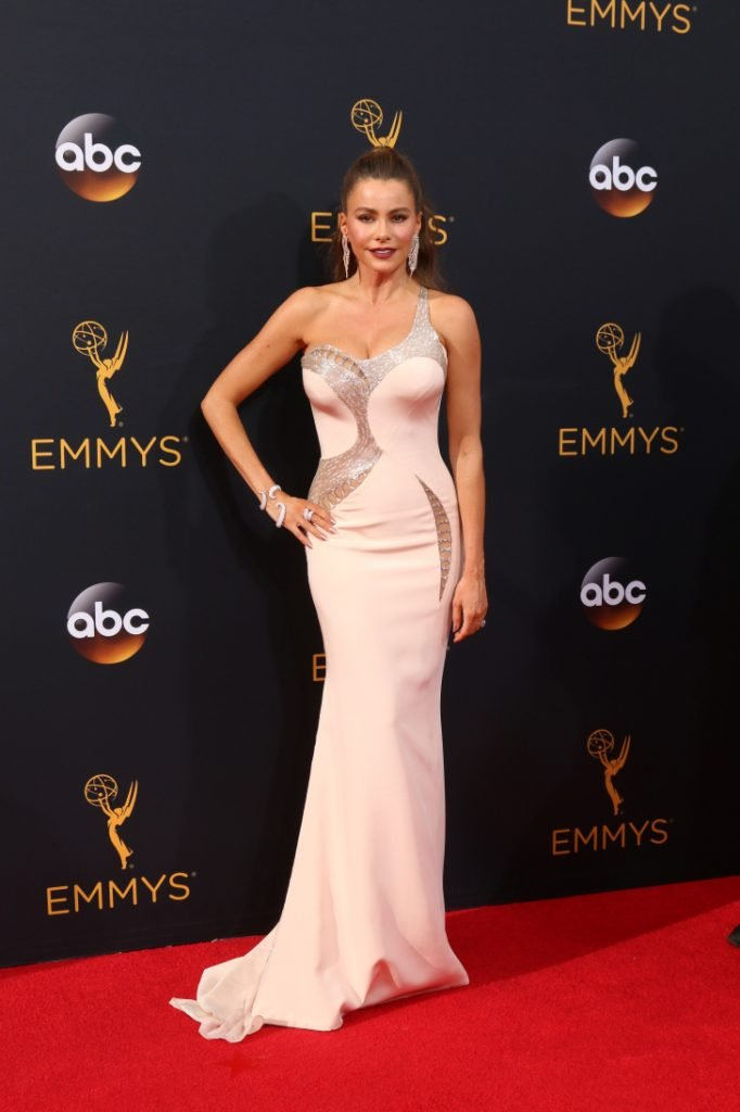 Sofia Vergara at the Primetime Emmy Awards