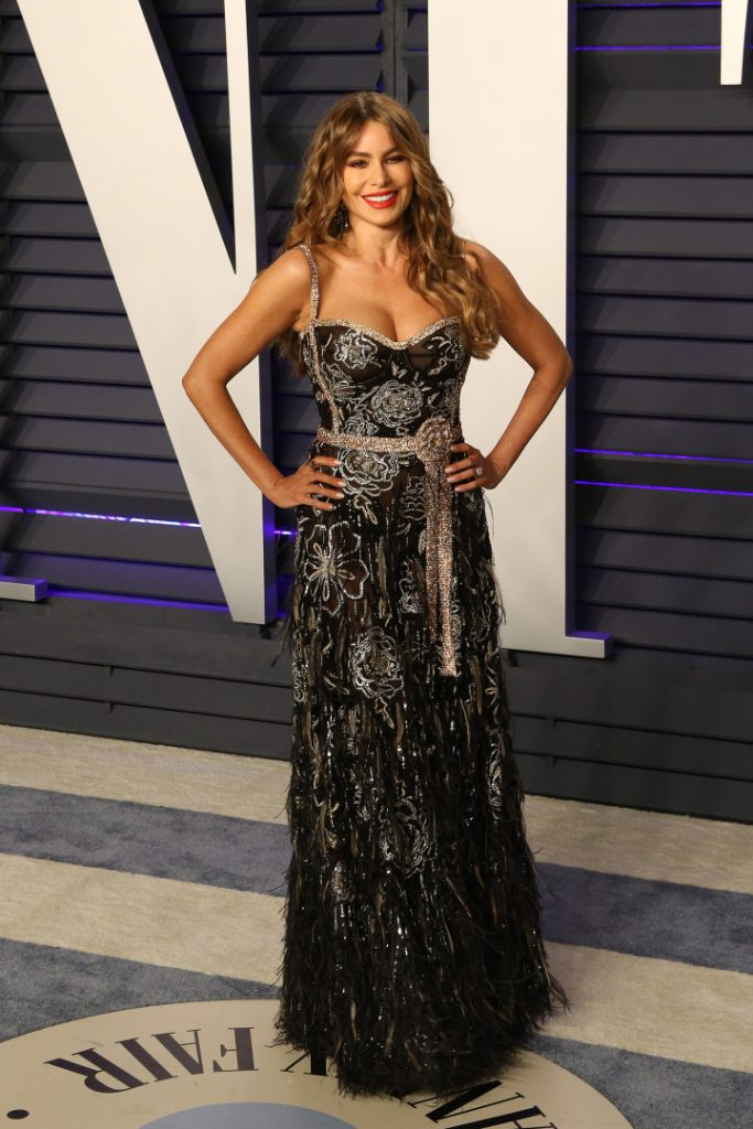 Sofia Vergara at the Vanity Fair Oscar Party