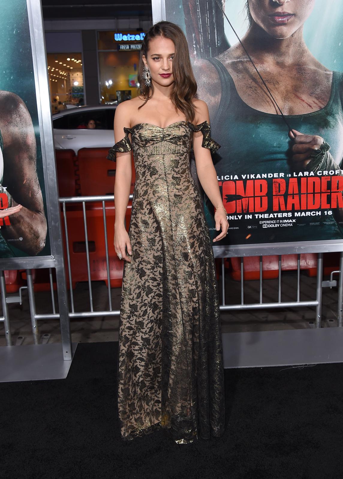 Actress Alicia Vikander