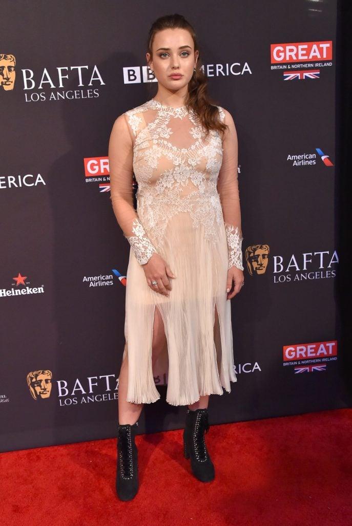 Actress Katherine Langford