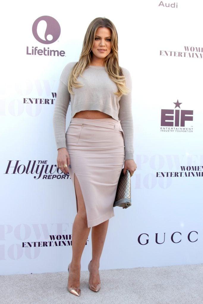 Actress Khloe Kardashian