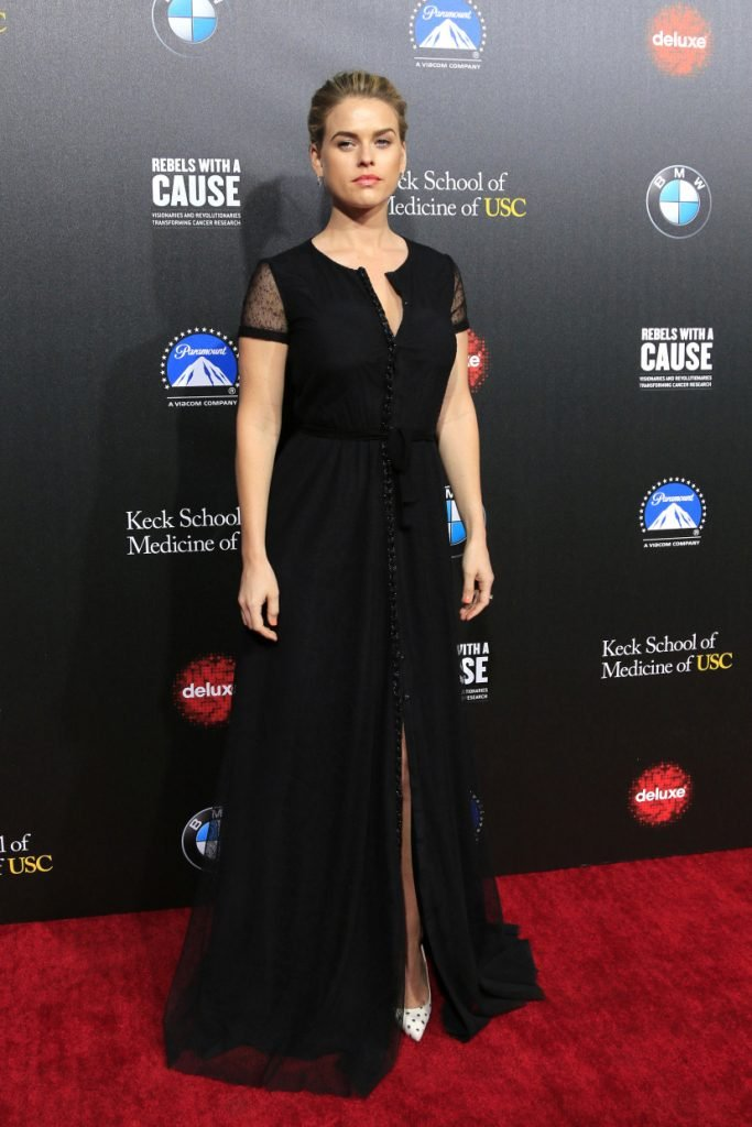 Alice Eve at the Annual Rebels With A Cause Gala