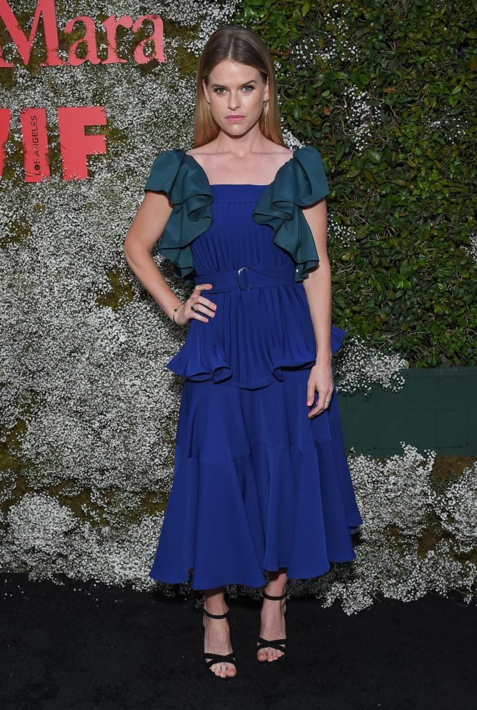 Alice Eve at the InStyle Max Mara Women In Film Celebration