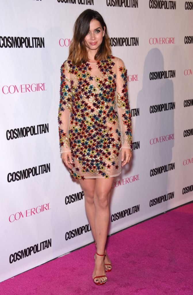 Ana de Armas at the Cosmopolitan's 50th Birthday Party