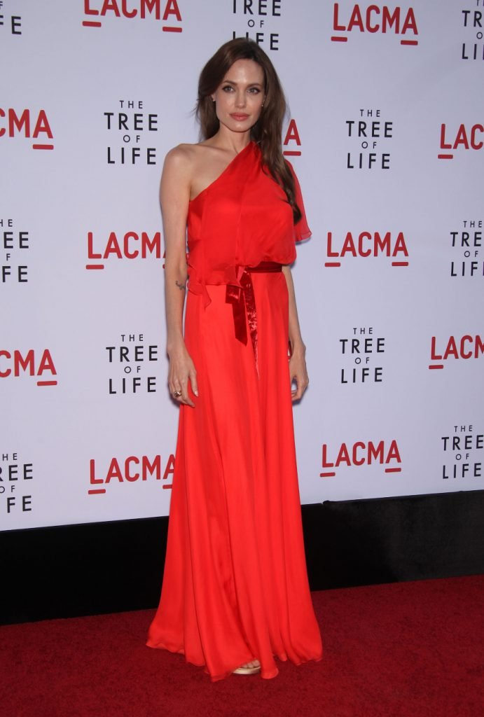 Angelina Jolie at The Tree of Life Los Angeles Premiere