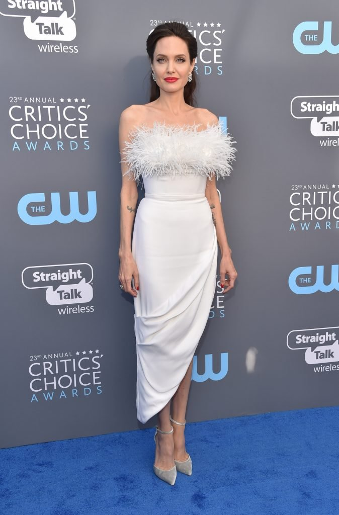 Angelina Jolie at the Annual Critics' Choice Award