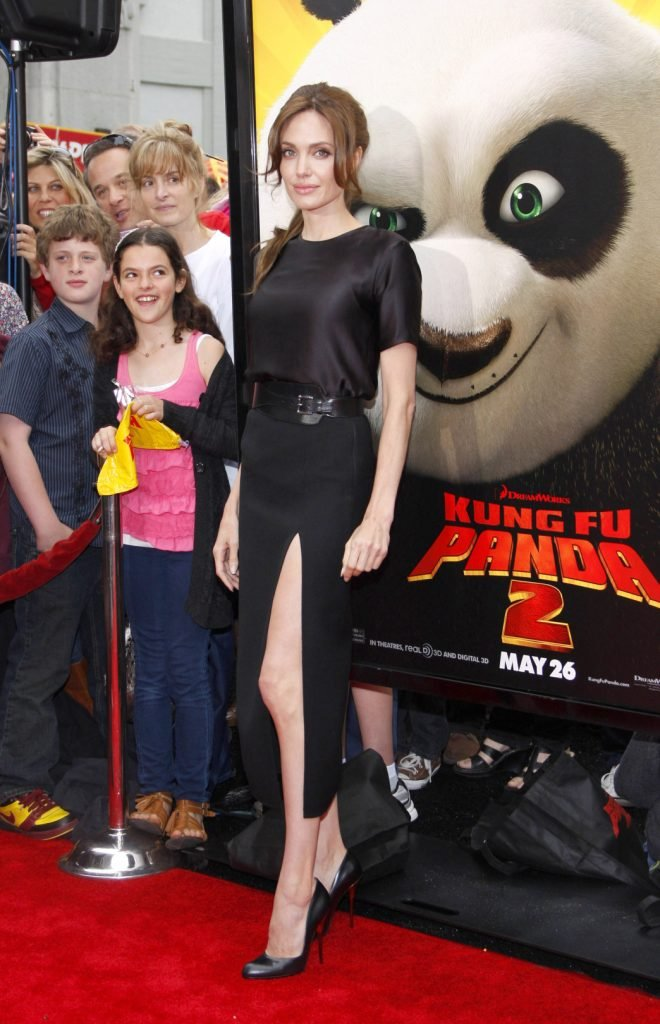 Angelina Jolie at the Los Angeles premiere of Kung Fu Panda 2