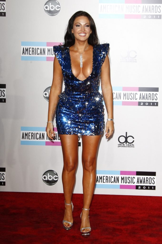 Bleona at the American Music Awards