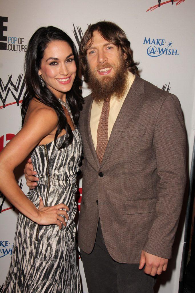Brie Bella with Daniel Bryan