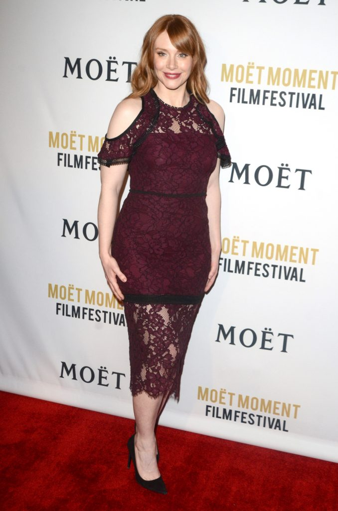 Bryce Dallas Howard at the Annual Moet Moment Film Festival