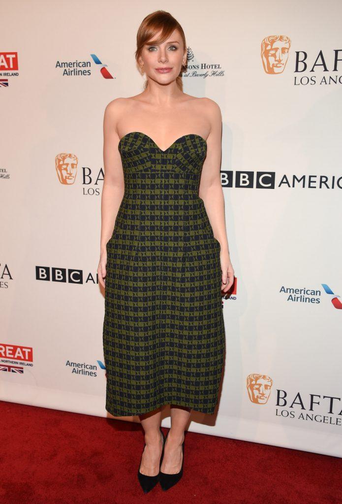 Bryce Dallas Howard at the BAFTA Los Angeles Tea Party