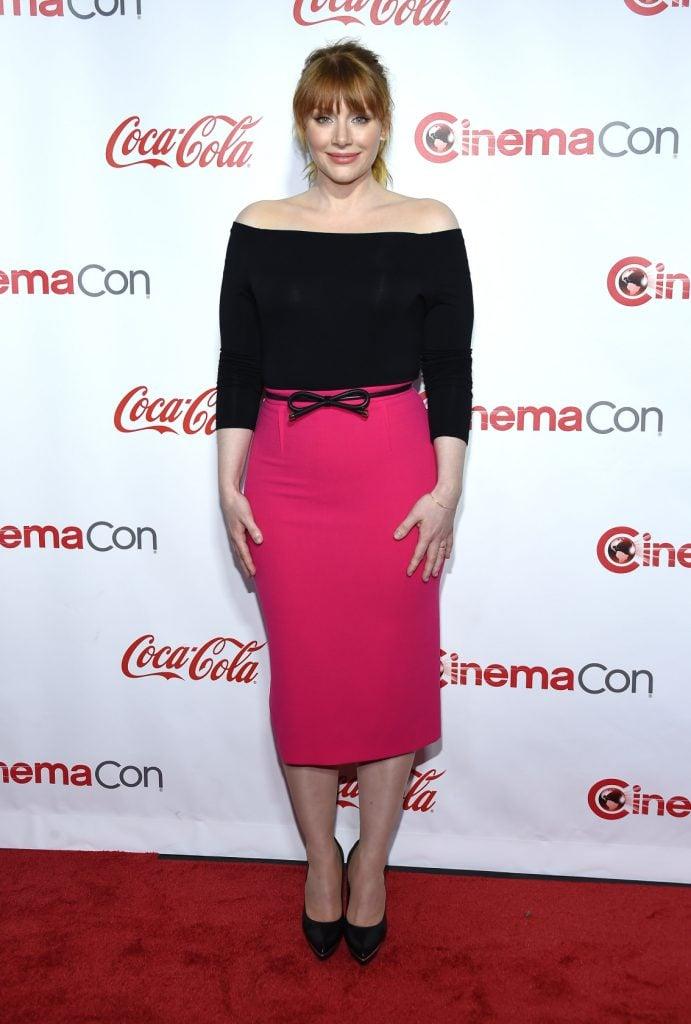 Bryce Dallas Howard at the Cinema Con Awards