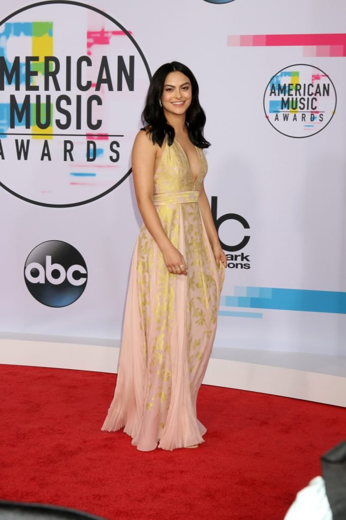 Camila Mendes at the American Music Awards