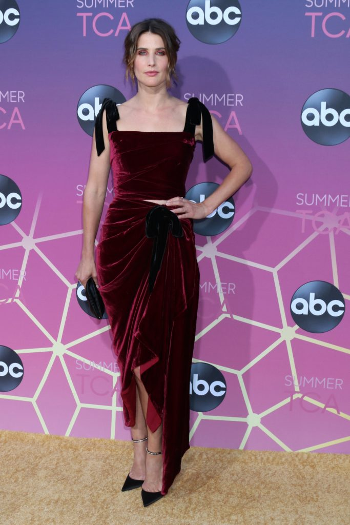 Cobie Smulders at the ABC Summer TCA All-Star Party