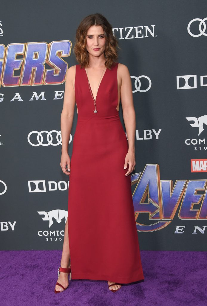 Cobie Smulders at the Avengers End Game Premiere