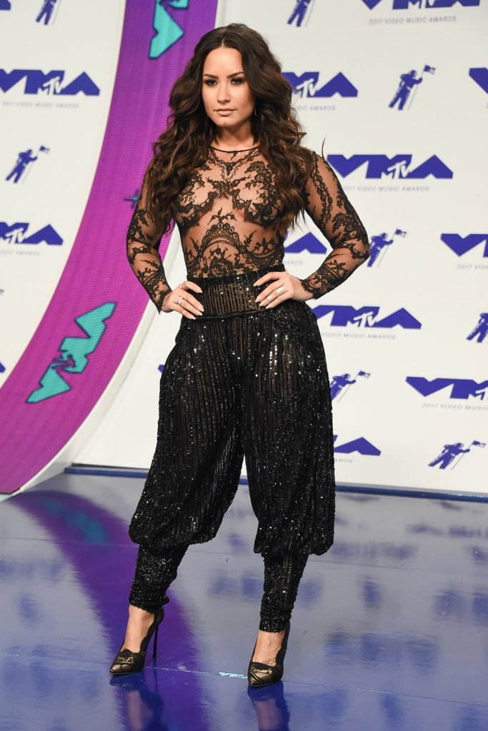 Demi Lovato at the MTV Video Music Awards