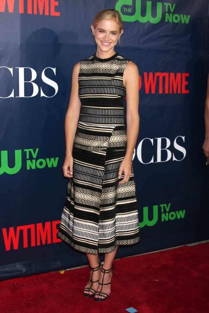 Emily Wickersham at the CBS TCA July Party