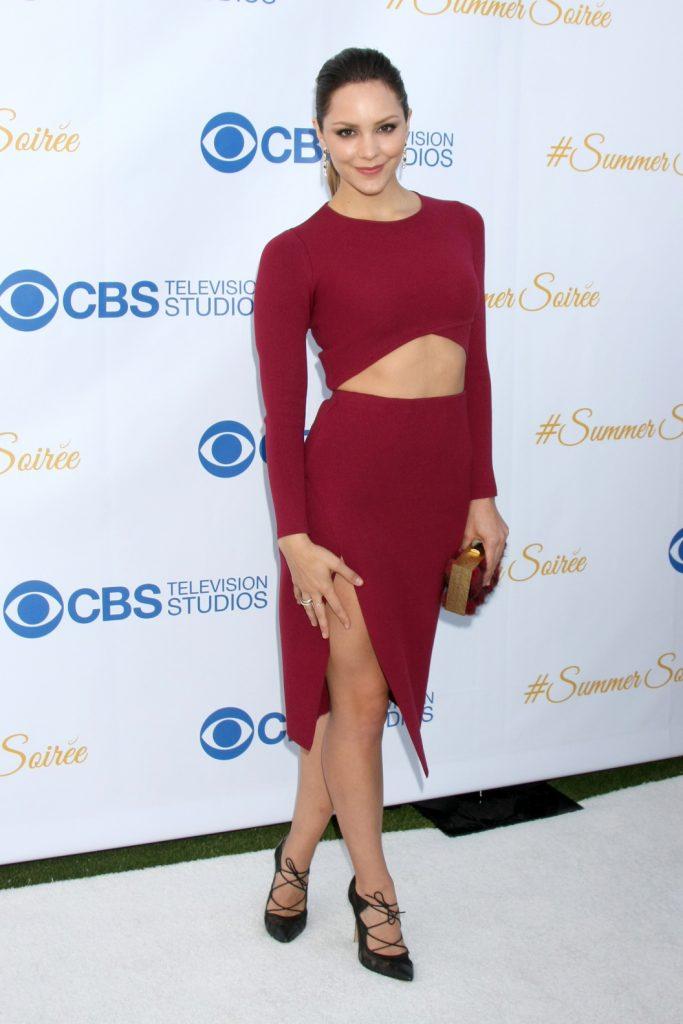Katharine McPhee at the CBS Summer Soiree