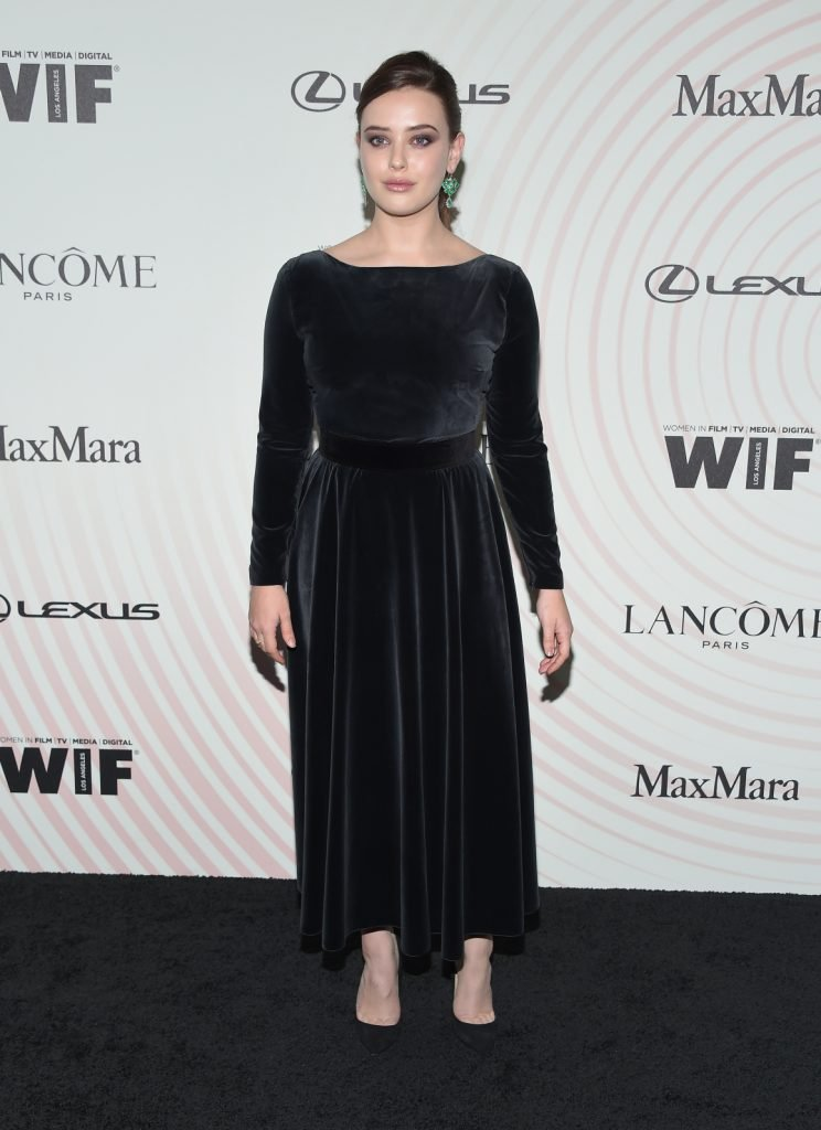 Katherine Langford arrives for the WIF Crystal-Lucy Awards