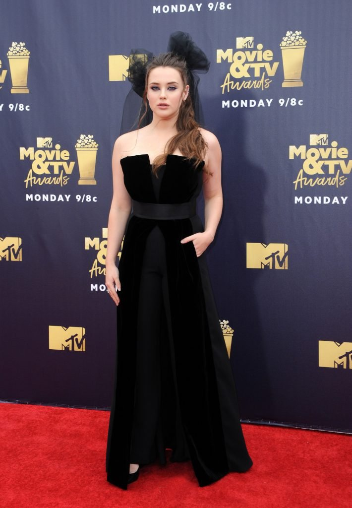 Katherine Langford at the MTV Movie And TV Awards