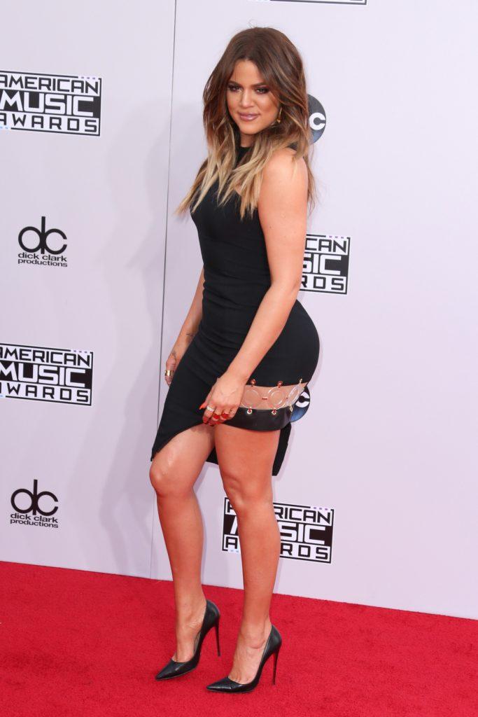 Khloe Kardashian at the American Music Awards