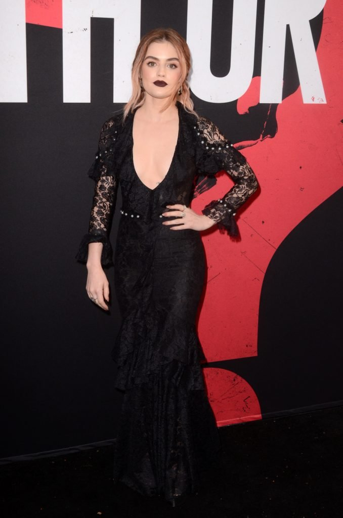 Lucy Hale at the Blumhouse's Truth Or Dare Premiere