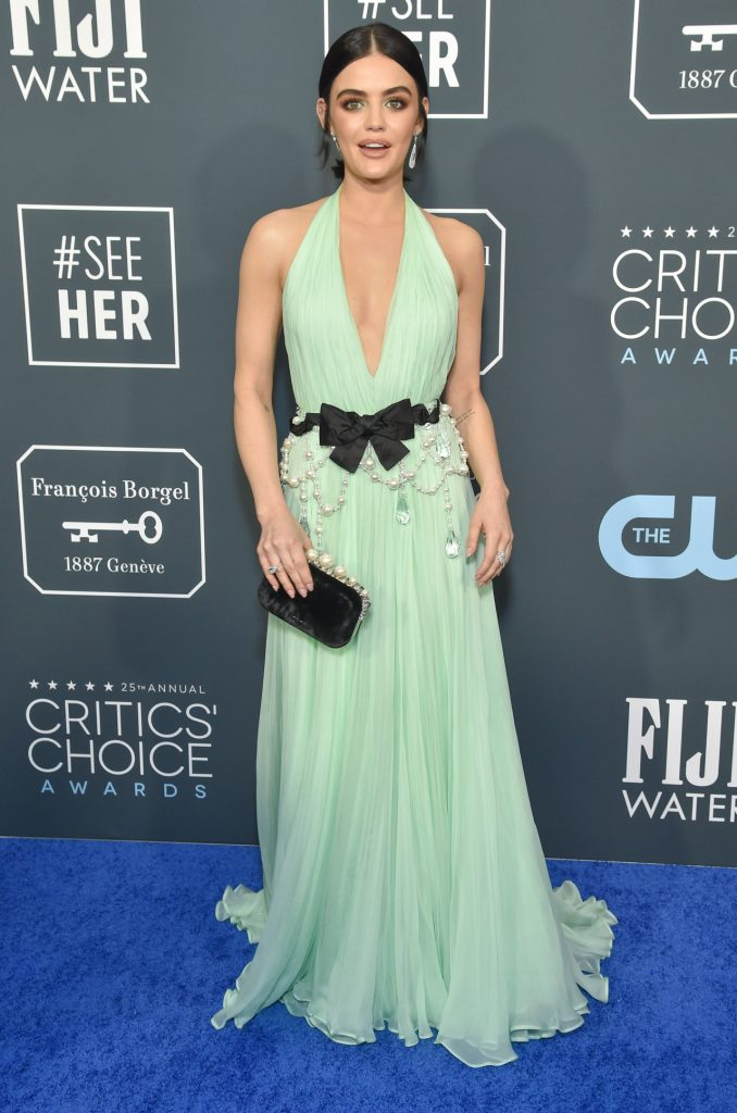 Lucy Hale at the Annual Critics' Choice Awards