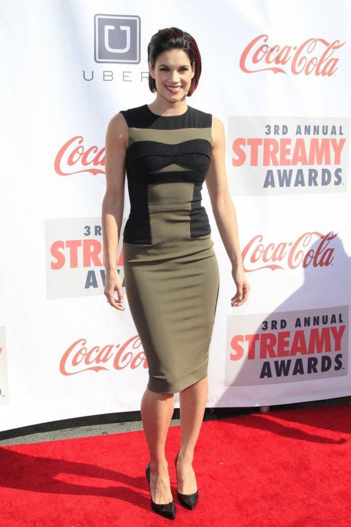 Missy Peregrym at the Annual Streamy Awards