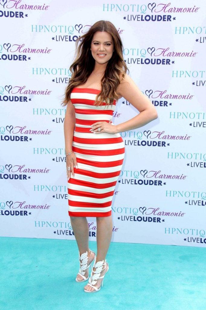 Model Khloé Kardashian