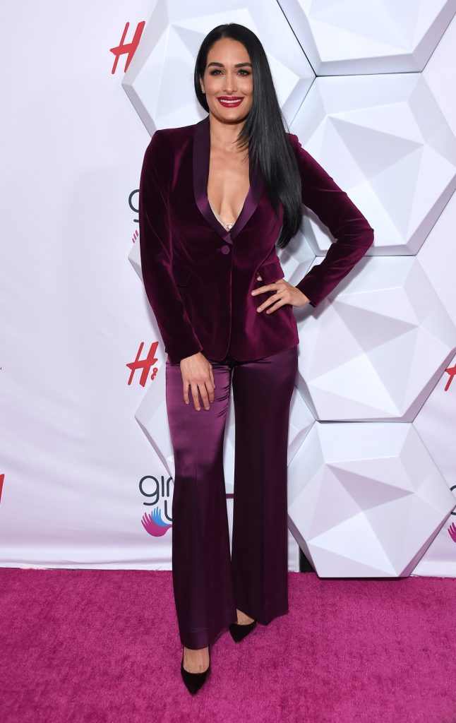 Nikki Bella at the Annual Girl Up Awards