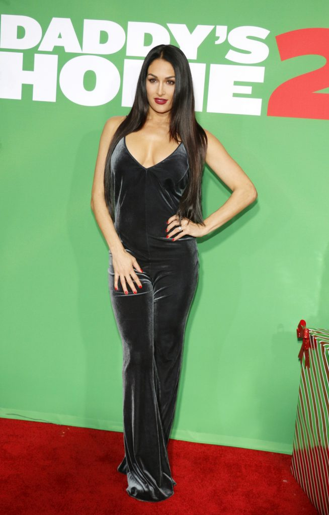 Nikki Bella at the Los Angeles premiere of Daddy's Home 2