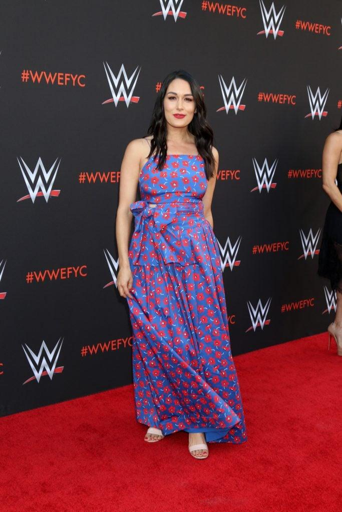 wrestler Brie Bella