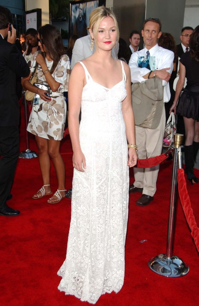 American actress Julia Stiles