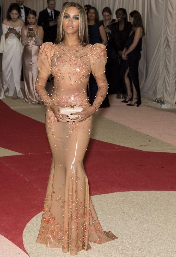 Beyoncé at the Met Gala