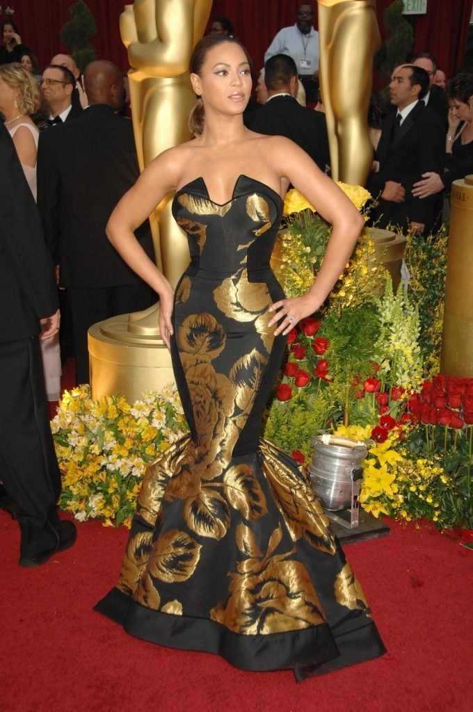 Beyonce at the Academy Awards