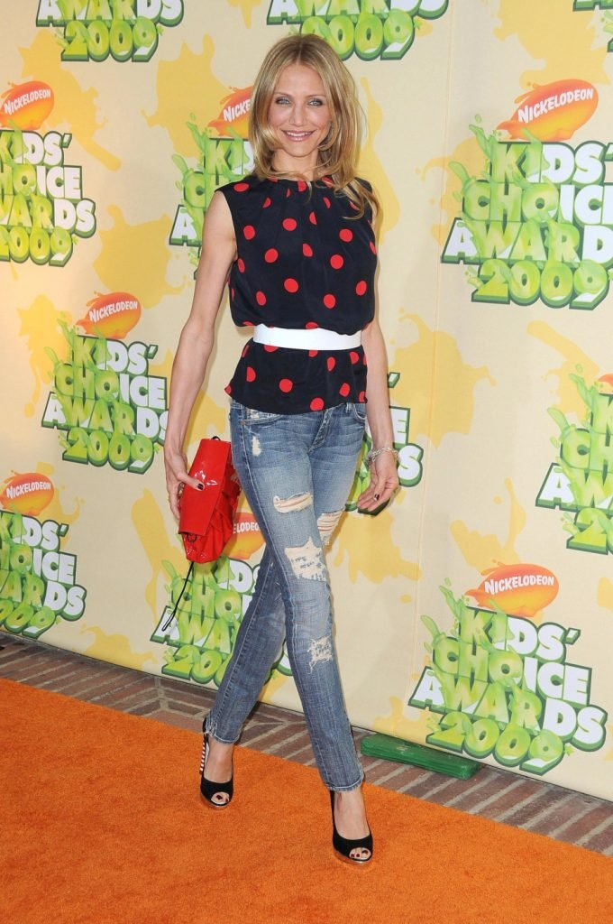 Cameron Diaz at Nickelodeon's Kids Choice Awards