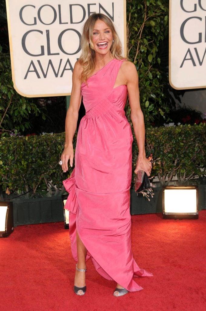Cameron Diaz at the Golden Globe Awards