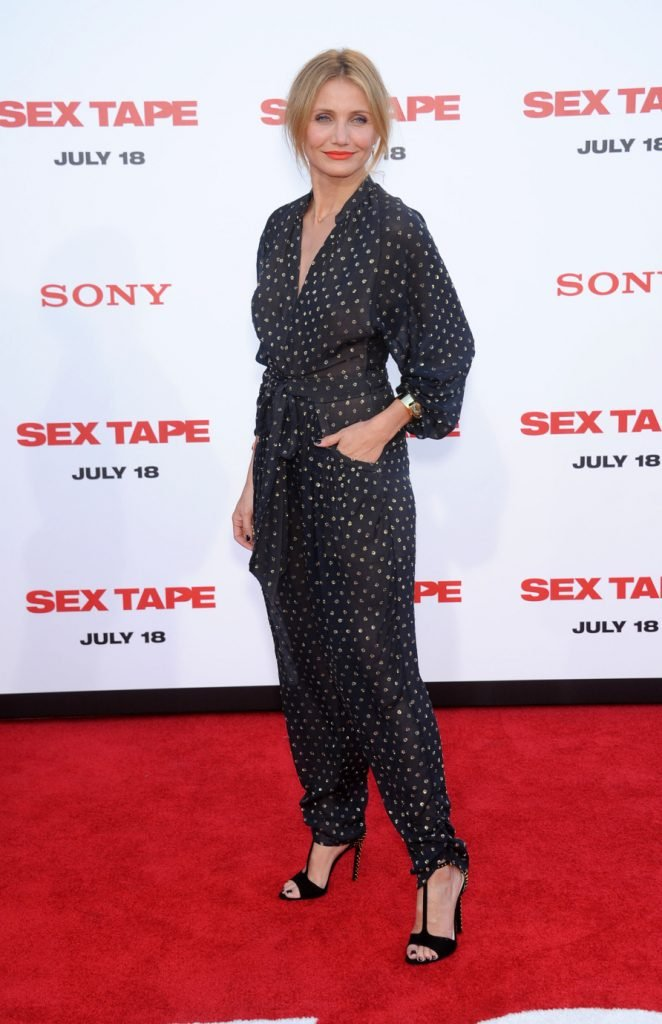 Cameron Diaz at the Sex Tape World Premiere