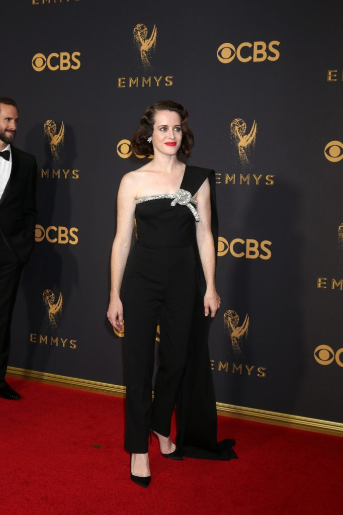 Claire Foy at the Primetime Emmy Awards