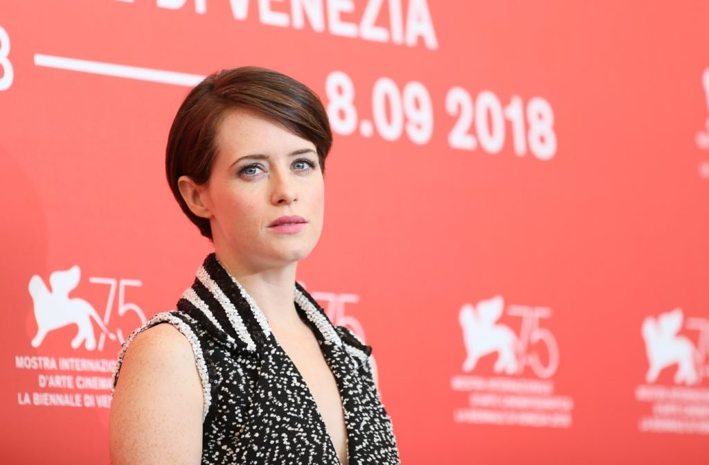 Claire Foy at the Venice Film Festival