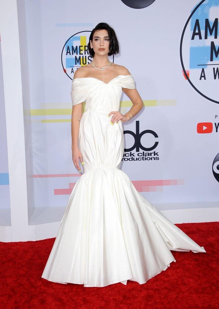 Dua Lipa at the American Music Awards