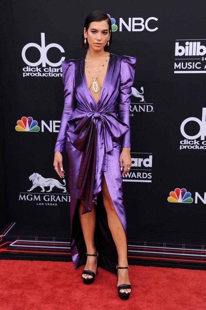 Dua Lipa at the Billboard Music Awards