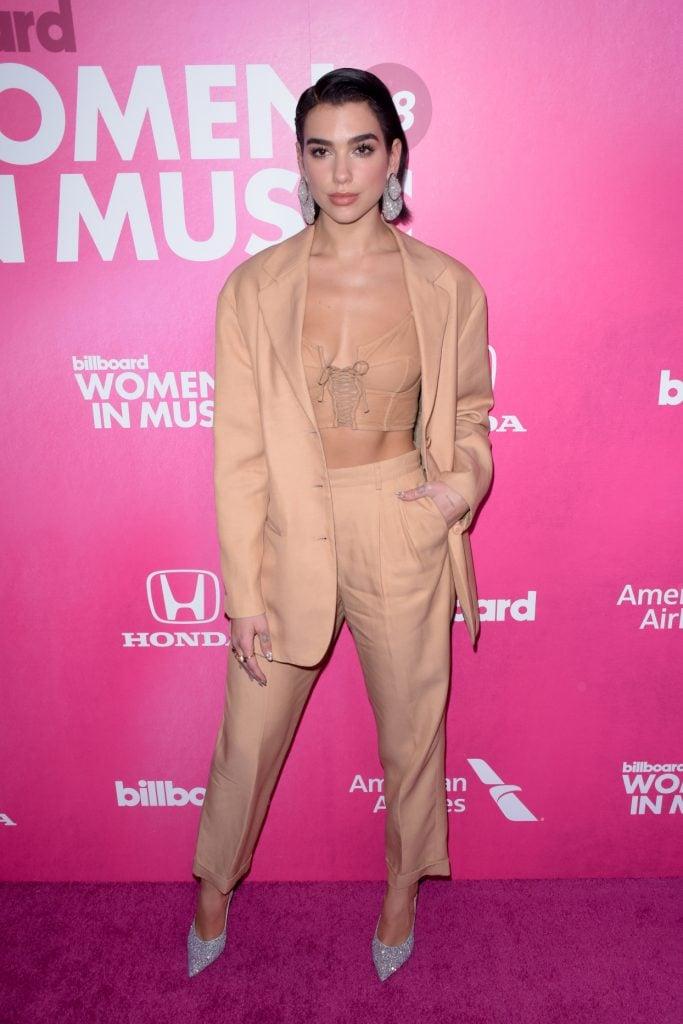 Dua Lipa at the Billboard's Annual Women in Music Event