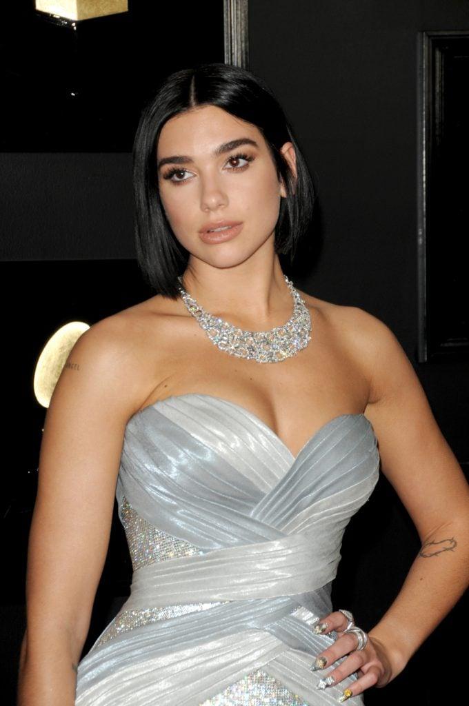 Dua Lipa at the Grammy Awards