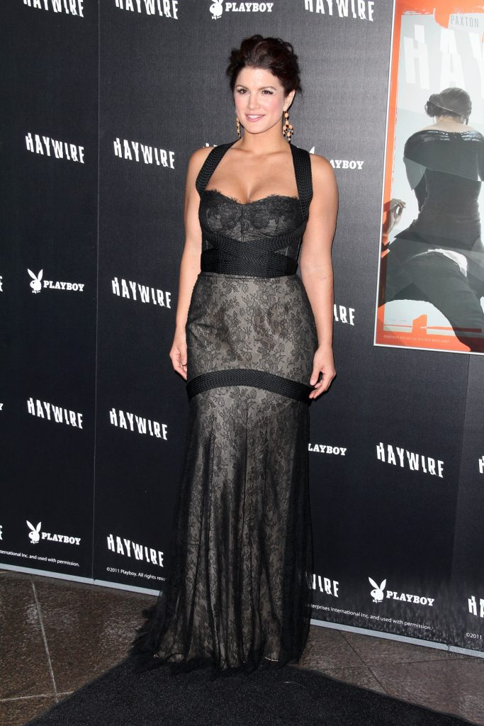Gina Carano at the Haywire Los Angeles Premiere