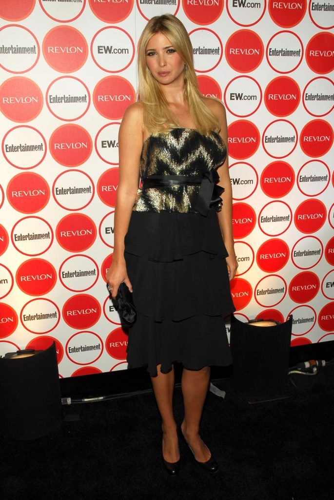 Ivanka Trump at the Entertainment Weekly Pre-Emmy Party